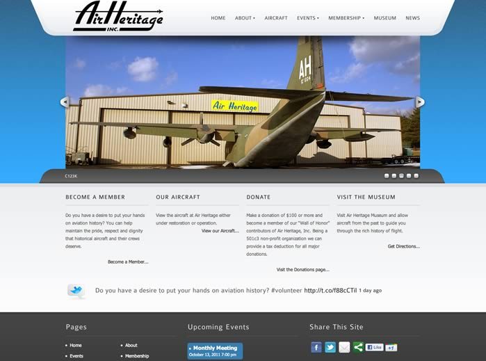 Air Heritage Website