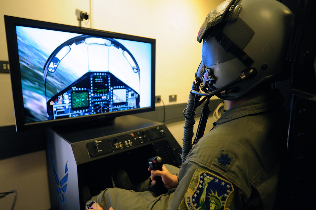 Air Force F-15 Simulator