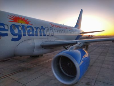 First Flight on Allegiant